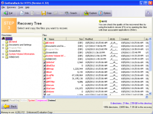 Hard Drive Recovery - Get Data Back Screenshot
