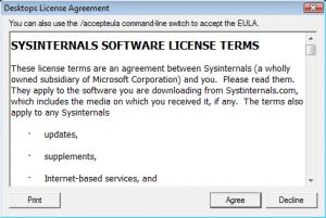 Desktops Screenshot