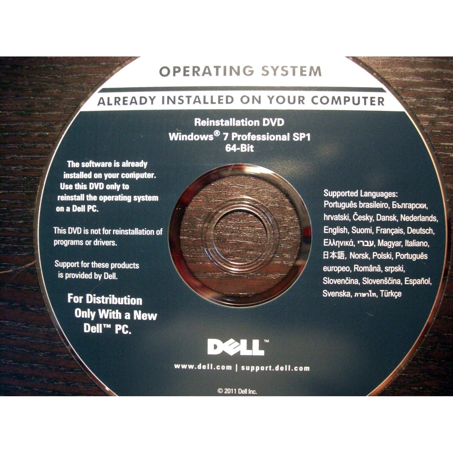 Dell How To Install Windows 7