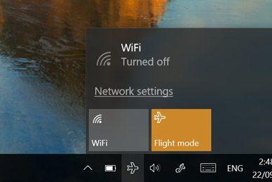 Windows 10 airplane mode won't turn off