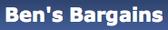 Tech bargains -Ben's Bargains Logo