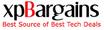 Tech bargains -xpBargains.com Logo