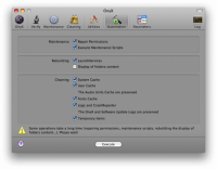 Disk Repair Mac - Hard Drive Diagnosis and more - OnyX Screenshot