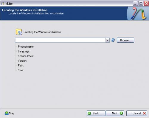 Windows XP nLite - locate Installation screen copy