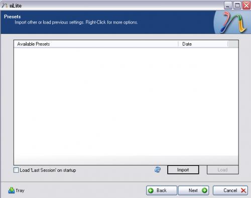 Windows XP nLite Presets