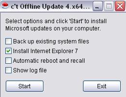 Offline Update