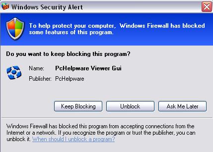 PCHelpWare Windows Security Alert