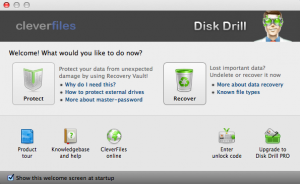 how to recover data from hard disk - Disk Drill Screenshot