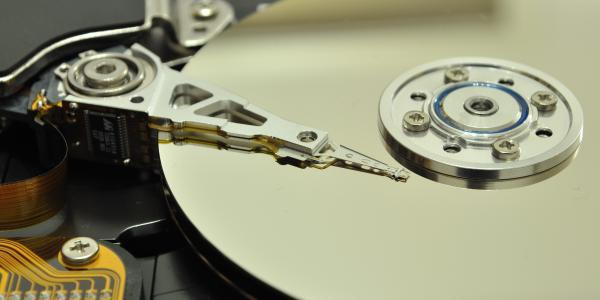 Open Hard Disk Drive for Recovery TheTechMentor.com