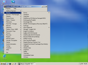 Hard Drive Recovery - Hiren's BootCD Screenshot