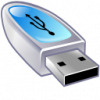 Flash USB Drive speed Icon
