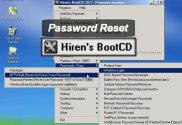 hirens boot cd-USB password reset
