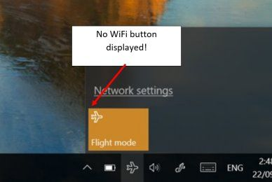 airplane mode won't turn off