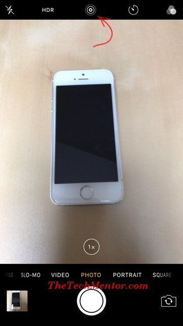 live photo iphone 6 icon