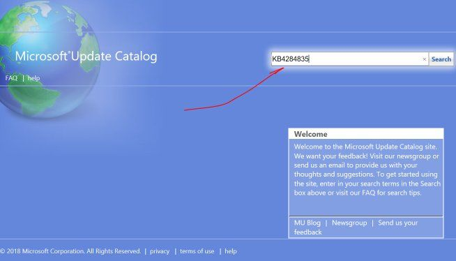 download windows 10 updates manually Microsoft catalog