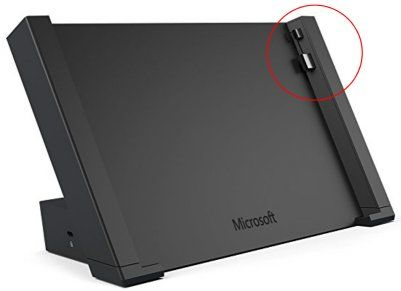 docking station not compatible surface pro 3