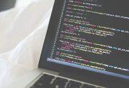 basics of coding on laptop