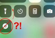 delete new icon control center on iphone