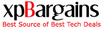 Tech bargains -xpBargains.com Logo