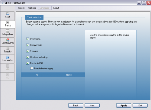 vLite - nLite Vista Installation Disk Creation