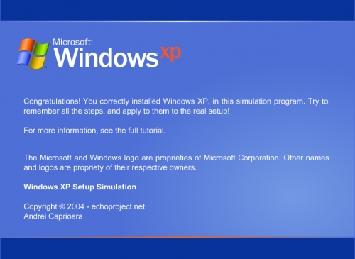 Practice Installing Windows Using a Simulator